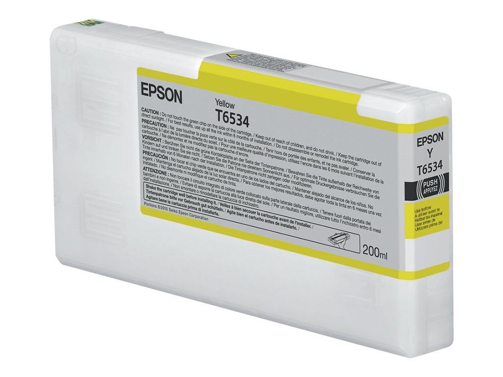 Epson - T6534 - 200 ml - jaune - originale - cartouche d'encre