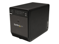 StarTech.com 4 Bay External Hard Drive Array RAID Tower