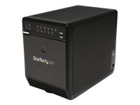 StarTech.com 4 Bay External Hard Drive Array RAID Tower