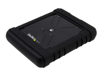 """StarTech.com Boîtier USB 3.0 antichoc pour disque dur SATA 6 Gb/s de 2,5"""" - Boîtier HDD / SSD robuste avec UASP - boitier externe - SATA 6Gb/s - SATA 6Gb/s, USB 3.0"""