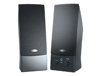 Cyber Acoustics CA-2014 Speakers - for PC - 4 Watt (total) - black - Speakers - for PC - 4 Watt (total) - black
