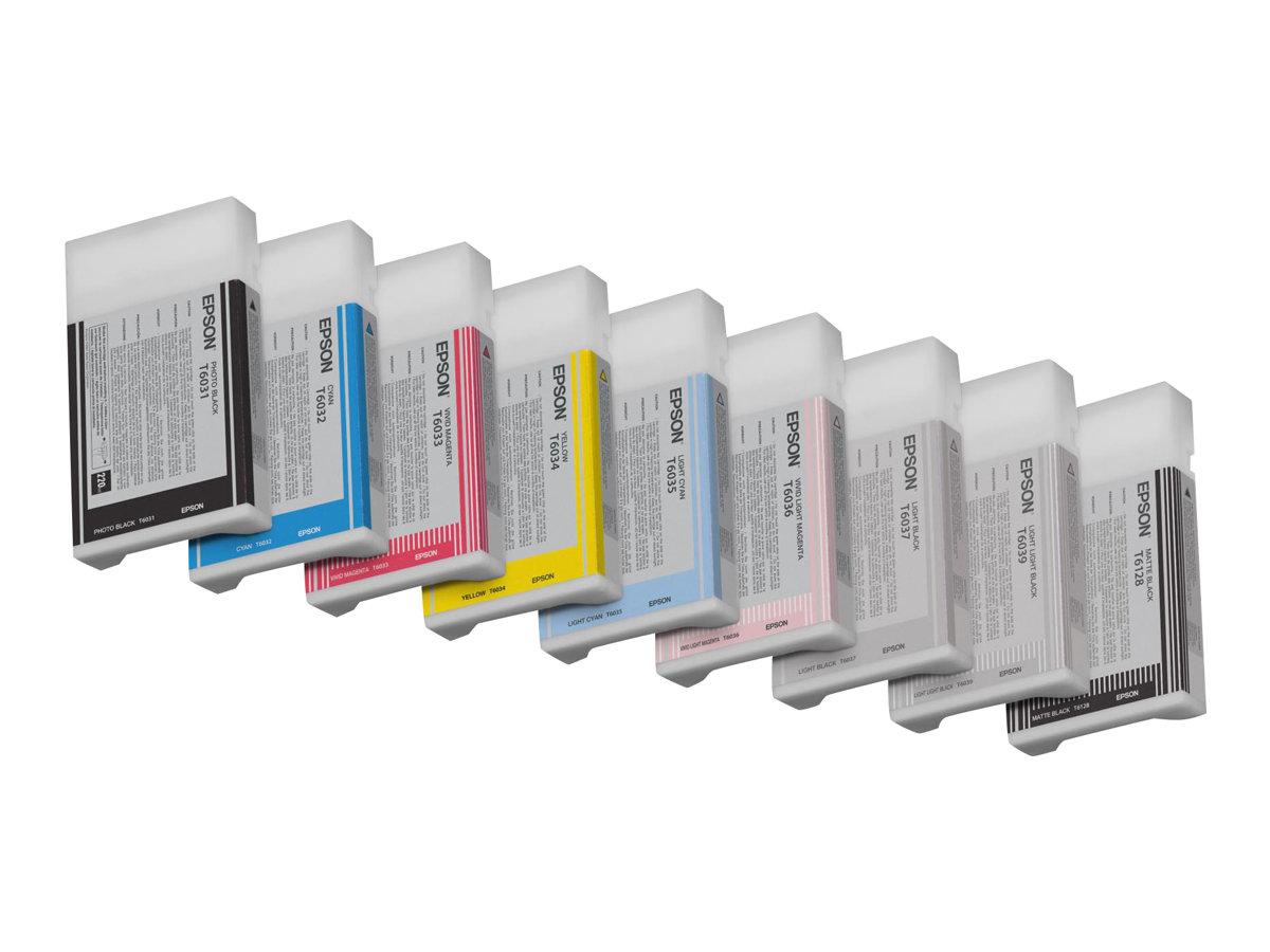 Epson T603C - magenta clair - originale - cartouche d'encre