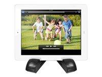 Aluratek Bluetooth Wireless Speaker Tablet Stand ATBS01F