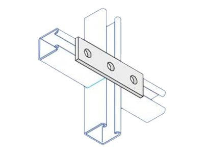 Unistrut P1066 Unistrut Flat Plate Channel Support Bracket Hot Dip