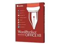 WordPerfect Office X8 Professional Edition