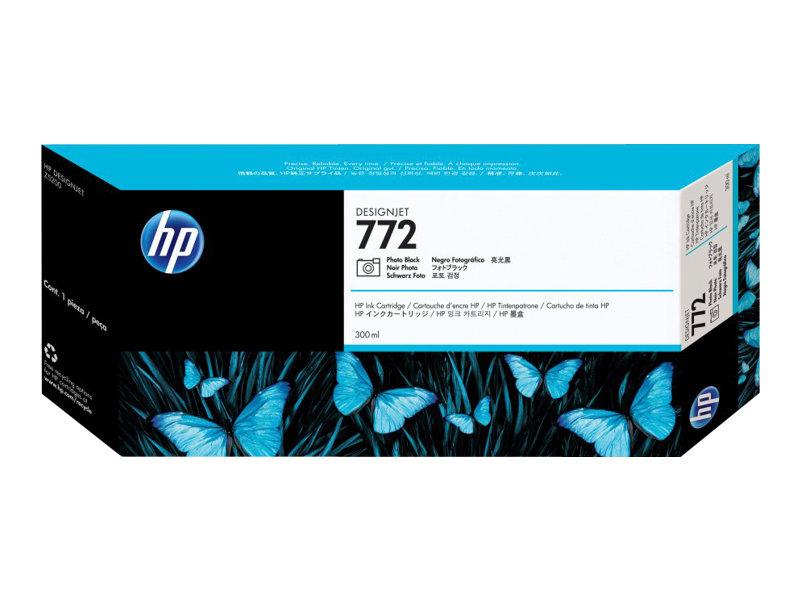 HP 772 - photo noire - originale - cartouche d'encre