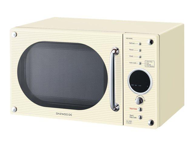 KOR6N9RC - Daewoo KOR6N9RC - microwave oven - freestanding - cream
