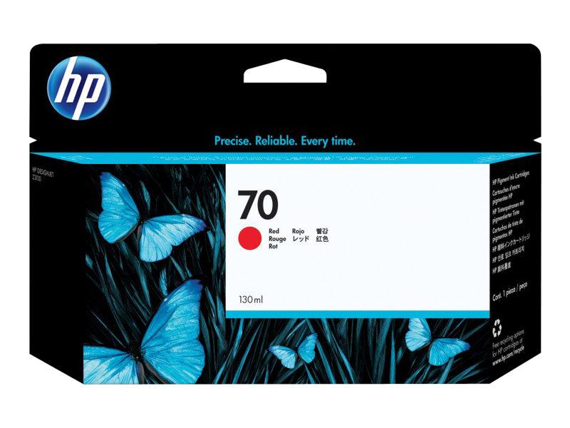 HP 70 - rouge - originale - cartouche d'encre