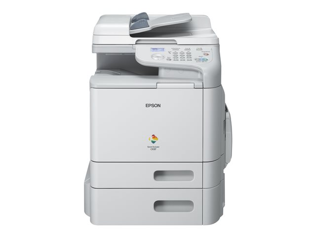 Image of Epson AcuLaser CX37DTN - multifunction printer ( colour )