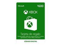 Microsoft Xbox Live - Gift Card - (MXN$600)