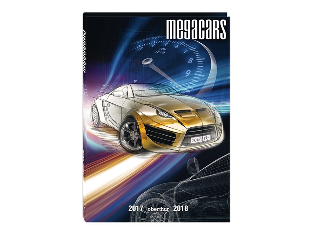 Oberthur Megacars/Megabikes - agenda scolaire