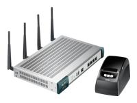 ZyXEL UAG2100 - routeur sans fil - 802.11a/b/g/n - Ordinateur de bureau, Montable sur rack - avec ZyXEL SP350E Service Gateway Printer