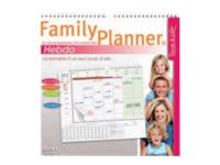 quo vadis family planner planificateur familial calendriers planning. Black Bedroom Furniture Sets. Home Design Ideas