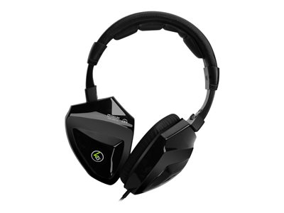 Kaliber Gaming SAGA Surround Sound Gaming Headphones - Headphones with mic - full size - 3.5 mm jack