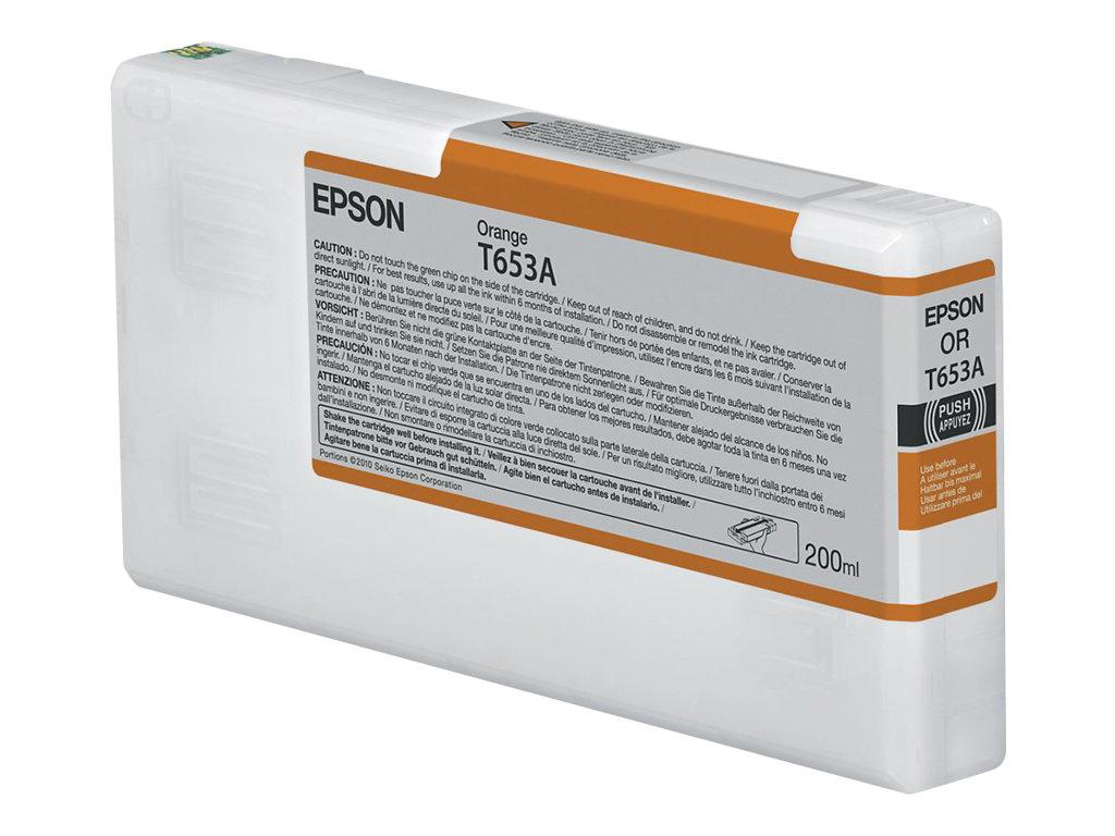 Epson - T653A - 200 ml - orange - originale - cartouche d'encre