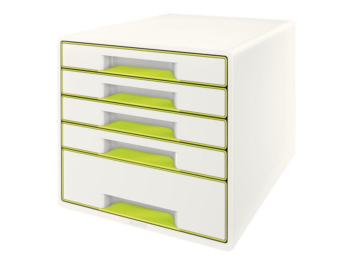Leitz WOW CUBE - bloc de classement à tiroirs