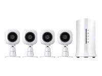Home8 Mini Cube HD Camera Ultra-Secure Starter Kit - Home security system - wireless - 802.11b/g/n - 433 MHz, 2.4 Ghz