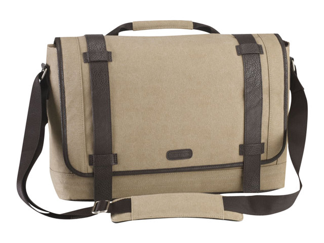Image of Targus Canvas Laptop Messenger Bag for Men - notebook carrying case