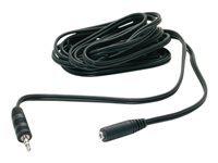 StarTech.com Cable d'extension audio pour enceinte PC 3,6m - Rallonge audio 3,5mm - Cordon d'extension pour haut parleur - M/F
