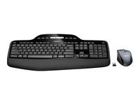 Logitech Wireless Desktop MK710 Tastatur og mus-sæt trådløs 2.4 GHz