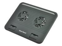 Gear Head Dual-Cool Notebook Cooling Stand CFS4200BLK
