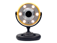 Gear Head Quick WebCam with Night Vision WC1400YLW