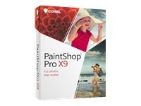 Corel PaintShop Pro X9 - ensemble de boîtes