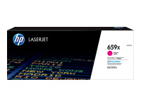 HP 659X - Magenta - original - LaserJet - toner cartridge (W2013X) - for LaserJet Enterprise MFP M776; LaserJet Enterprise Flow MFP M776