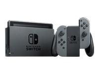 Nintendo Switch with Gray Joy-Con Spilkonsol Full HD grå, sort