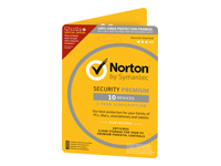 Norton Security Premium (v. 3.0) abonnementskort (1 år)