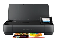 HP Officejet 250 Mobile All-in-One - imprimante multifonctions ( couleur )