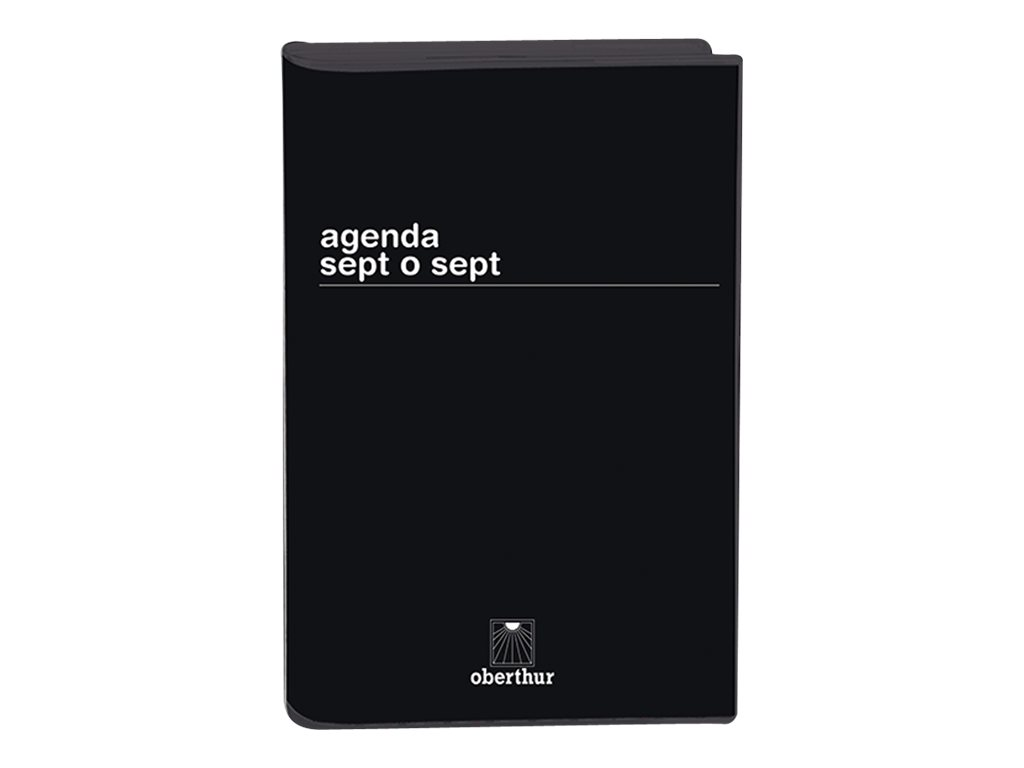 Oberthur Aurore - Agenda sept o sept - 2017 - semainier - coloris selon disponibilité