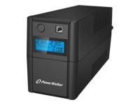 PowerWalker VI 850SE LCD UPS AC 230 V 480 Watt 850 VA 9 At USB