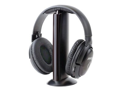 PYLE Home PHPW5 - Headset - full size - wireless - radio