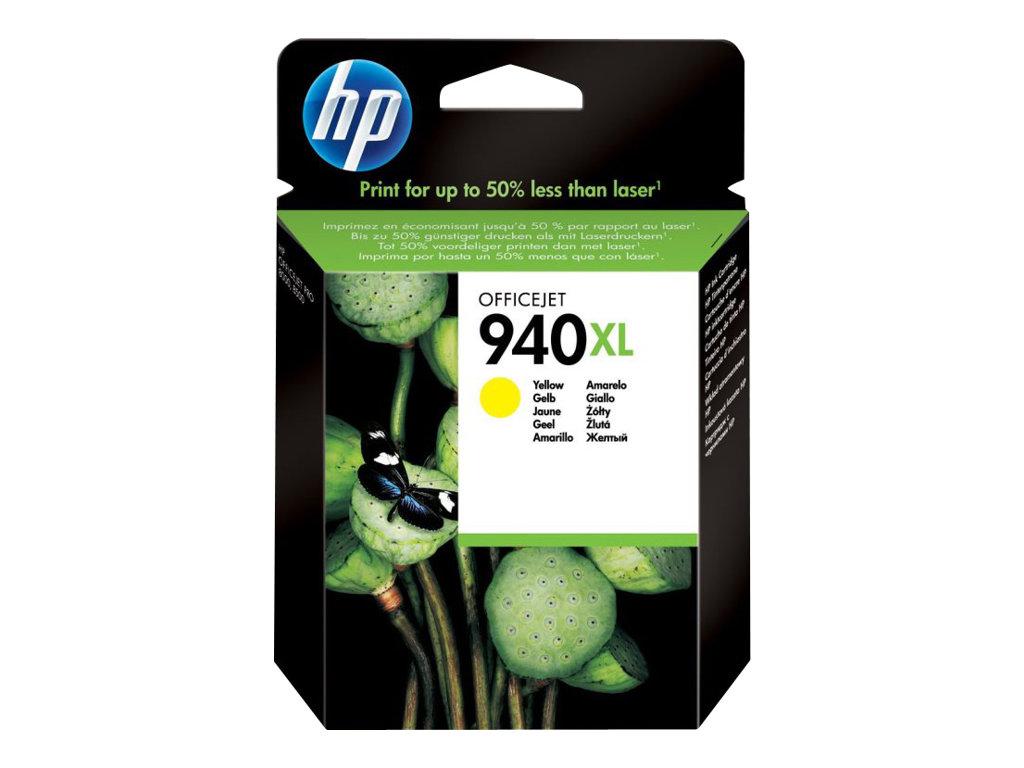 HP 940XL - à rendement élevé - jaune - original - cartouche d'encre