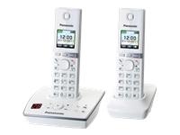 Panasonic KX-TG8062GW Trådløs telefon besvarelsessystem med opkalds-ID