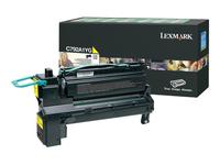 Lexmark Cartouches toner laser C792A1YG