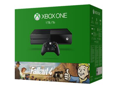 Microsoft xbox one fallout 4 bundle game console 1 for Xbox one hunting and fishing games