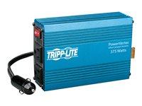 Tripp Lite Compact Car Portable Inverter 375W 12V DC to 120V AC 2 Outlets - Convertidor de corriente CC a CA - 12 V