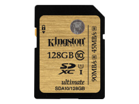 Kingston Ultimate - carte mémoire flash - 128 Go - SDXC