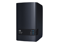WD My Cloud EX2 Ultra WDBVBZ0000NCH - dispositif de stockage personnel dans le nuage - 0 Go