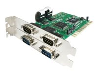 STARTECH - CARDS/HUBS/ADAPTER StarTech.com 4 port PCI RS232 Serial Adapter Card with 16550 UARTPCI4S550N