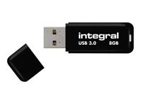 Integral Europe Cl�s USB INFD8GBNOIR3.0