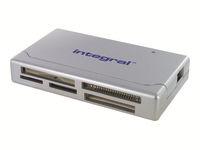 Integral MultiCard Reader - lecteur de carte - USB 2.0
