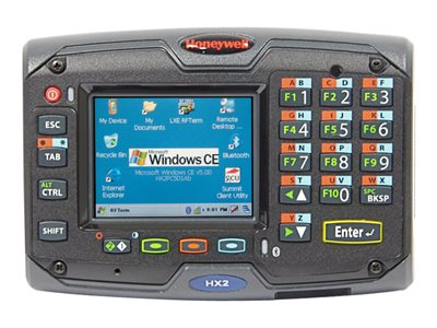 "Honeywell HX2 - Data collection terminal - Win CE 5.0 Pro - 512 MB - 2.5"" color TFT (320 x 240) - USB host - Wi-Fi, Bluetooth - black"