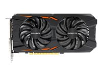 Gigabyte GeForce GTX 1050 Ti Windforce OC 4G - Graphics card - GF GTX 1050 Ti