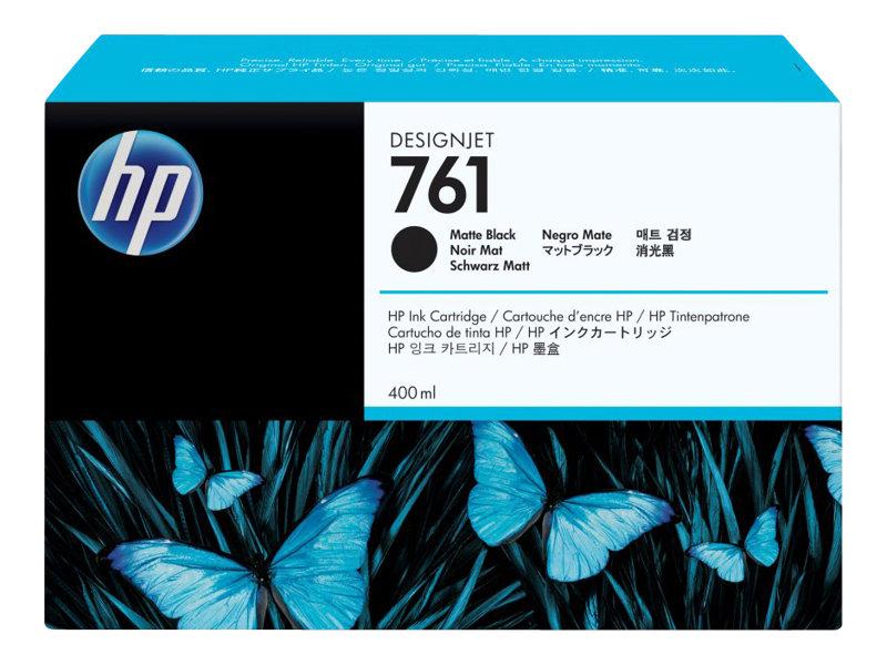 HP 761 - 400 ml - noir mat - originale - cartouche d'encre