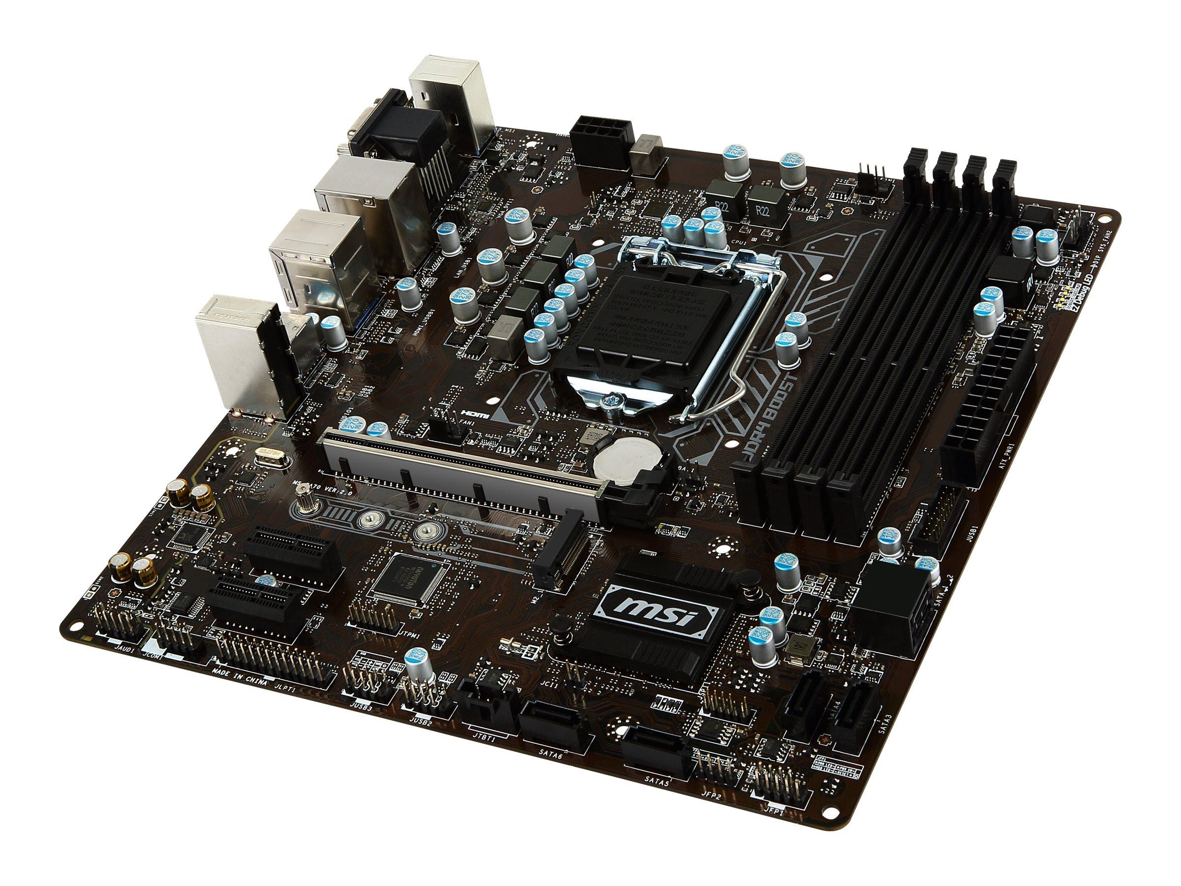 MSI B250M PRO-VDH PLACA BASE MICRO ATX LGA1151 SOC