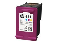 HP 651 Tri-colour Ink Cartridge, HP 651 Tri-colour Ink Cartridge