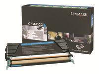 Lexmark Cartouches toner laser C734A1CG